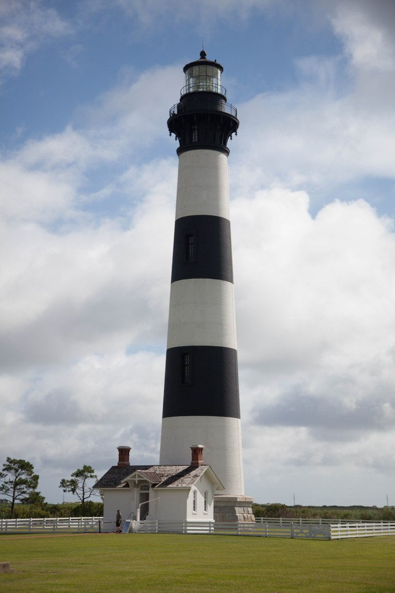 bodie island lighthouse, cape hatteras