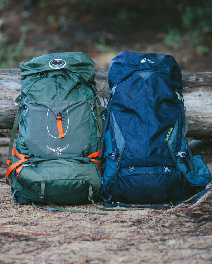 gear review, backpacker, osprey atmos, gregory baltoro